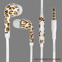 nuevo auricular del oido con impresion 360 angulo con microfono con control de voloume de S4  fone de ouvido auriculares