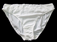 Cream Briefs Panties Knickers Size: XL AU16 US12 B1058