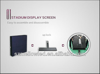 Aliexpress 2013 new technology LED display screen in stadium/adverting/perimeter/score board
