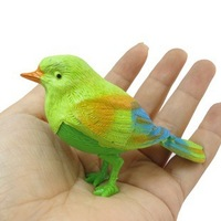 2013 Hot-saling Voice Control Sing Bird Funny toys Small Bird can sing