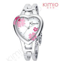 Women's watch four leaf clover bracelet fashion watch heart vintage quartz watch