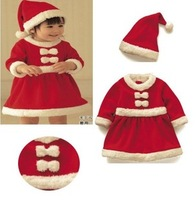 2013 Christmas child performance wear santa claus clothes christmas installation