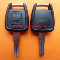 Opel 2 button remote key blank with right blade