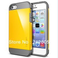 Newest SGP SPIGEN SGP Slim Armor Color Case for Apple Iphone 5C+Original Box Free Shipping
