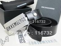 Free shipping 2014 brand dirk bikkembergs Genuine Leather mens belt cowskin waistbelt sash Genuine leather belt buckle fasion