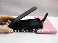 IN STOCK !! 2013 new item high quality flip leather case for Amoi N828 / xiaxin N828 + screen protector