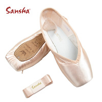 Sansha ballet shoes toe shoes practice shoes soft and hard f.r . d Pointe shoesFree Shipping