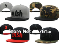 2013 New Wish Snapback Hats and Caps Fashion Street Hiphop Baseball Cap Men Women Sun-Hat Adjustable Free Shipping