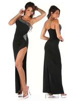 Free shipping Ds diamond full dress mopping the floor Latin dance ballroom dancing full dress oblique full dress costumes