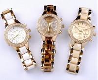 Quartz watch stainless steel watch vintage waterproof mens watch ladies watch lovers table trend women's men's white pointer