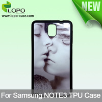 Free shipping !!!!! Sublimation Case for Samsung Note3, silicon case