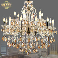 Cambonzola fashion luxury crystal lamps living room lights lighting bedroom lamp restaurant lamp pl7225-18