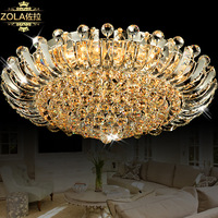 Cambonzola k9 luxury crystal lamp led ceiling light circle crystal lighting lamps bedroom lamp 9307