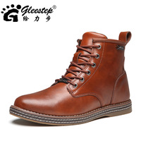 Мужские оксфорды men's fashion genuie leather oxfords Male business casual leather shoes trend pointed toe retro oxfords 39-44