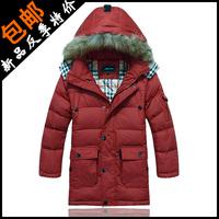 2013 child down coat male child down coat male big children's clothing down coat male child medium-long