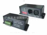 Free shipping DMX512 RGB Controller DMX512 Decoder;Input DC5V-24V,LED controller support TM1804,TM1809,TM1812 driving IC
