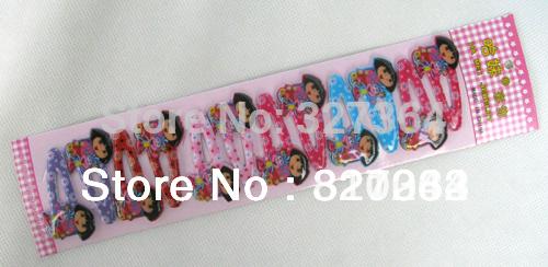 Free shipping 120 pcs/lot Cartoon Dora Hair Clip Hairpin hair accessories clips hair(China (Mainland))