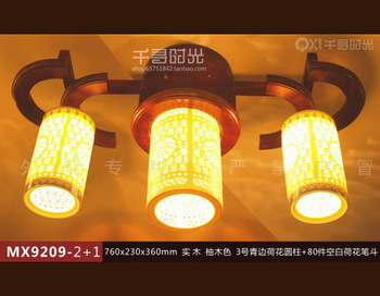 3 brief chinese style lamp restaurant lamp ceiling light bedroom lights study light antique lamps ceramic lamp
