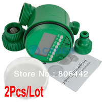 2Pcs/Lot Outdoor Yard Automatic Electronic Garden Water Timer /Irrigation Watering Timer System TK0976