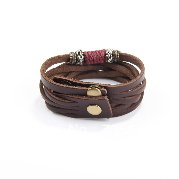 -ethnic-tribal-adjustable-brown-jewelry-leather-bracelet-for-men jpgTribal Bracelets For Men