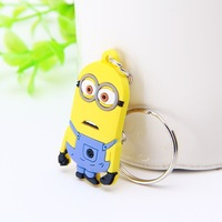 Hot sale Despicable Me pvc keychain for promotion gifts