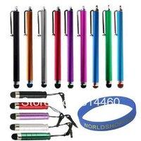 DHL  9PCS Elastic Capacitive Stylus Touch Screen Pen for iPhone 5 iPad Mini iPad 4 Samsung HTC Nokia 50pcs/lot.