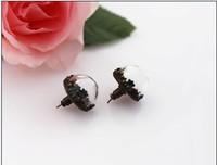 10 Pairs 15MM Glass Bulb Earrings ,Glass Cover Earrings ,glass ball earrings,Glass Globe Earrings,Glass Bottle Earrings