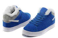 Skateboarding Shoes warm shoes Fur and wool male shoe Winter Men cotton shoes 40-44