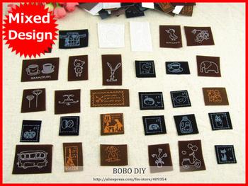 Min.order is $15 (mix order),10pcs/lot iron on fabric sticker heat transfer printing Zakka cute design for DIY project,F011#