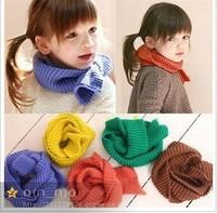 Free Shipping 2013 winter baby scarf child yarn scarf thermal muffler scarf baby fashion muffler scarf