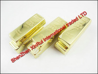 Gold Bars USB Flash 2.0 Memory Drive Stick Pen 8GB 32GB 64GB Flash Disk Stick Momery Stick