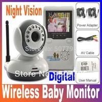 "Digital boy 2.4""TFT 2.4G Wireless Digital Baby Monitor IR Video Talk one Camera Night Vision video / Baby Monitor drop shop"