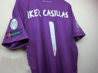A+++ 2013 2014 Real Madrid Purple Iker Casillas Goalkeeper Cheap Brand Thailand Soccer Jersey Wholesale Custom Name 2014 Font