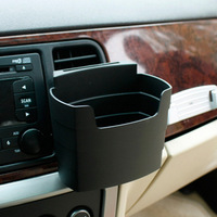 multifunctional french fries cup holder mobile phone can hang type glove bucket storage box glove box