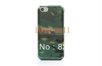 DHL  Free Shipping Handsome  Camouflage 2 in 1 for iPhone 5C Snap-On Hard Cover  100pcs/lot.