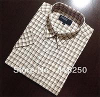 Freeshipping Hot Sale 2013 Men's Fashion Short Sleeve Shirts.Top Brand Quality Summar Slim Shirts ,With Mushroom Embroidery