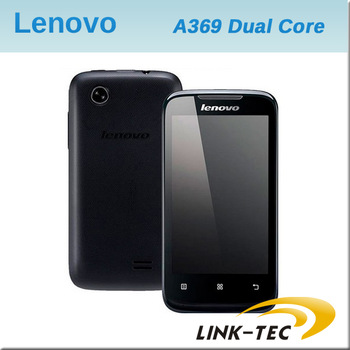 New arrival Lenovo A369 4.0 inch touch screen Dual Core MTK6572 Android 2.3 OS bluetooth wifi cheap cell phone android E