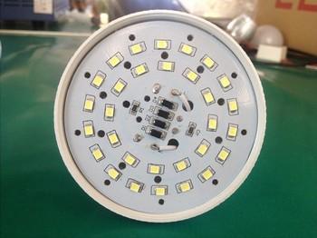 10PCS/Lot 3W 5W 7W E27 SMD2835 AC220V Energy Saving Super Bright Led Plastic Bulb Free Shipping
