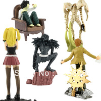 Japan Anime Nitendoroid Death Note Case File Figures Set Collection