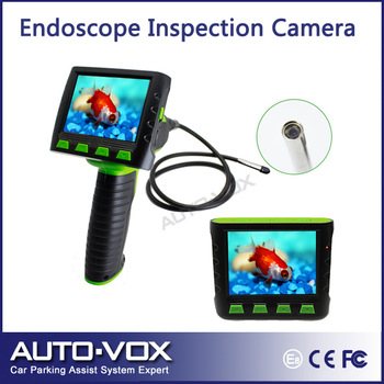 "Best 3.5"" TFT LCD wireless water video inspection pipe borescope endoscope inspection camera 5.5mm Diameter Camera + 1M Cable"