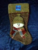 Quality christmas socks Large three-dimensional christmas snowman christmas boots