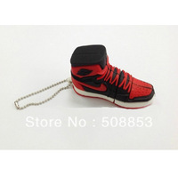 1 Pcs Wholesales!New Cartoon Sport Shoes/Sneakers usb 2.0 memory flash stick pen thumbdrive/disk/gift