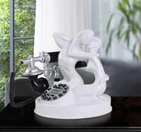 Antique telephone fashion phone vintage telephone black-and-white lovers telephone