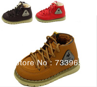 2013 Fashion hot sale Winter thick wool baby child cotton-padded shoes childern cotton boots soft children snow boots warm shoes