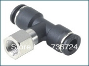 PBF4-M5   tube size 4mm,Thread M5 ,air hose connector,pneumatic fittings,connect tube fittings