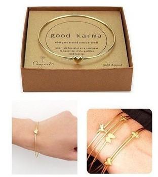SL009   New Fashion Vintage Heart Bracelets Retro Multilayer Bronze Birds Gifts