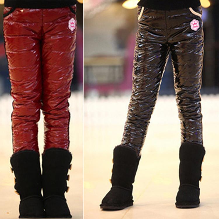 Балоневые штаны женские зимние фото