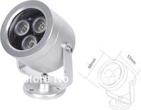 SUN-KING 3W high power aluminum outdoor led spot light, outdoor led garden light IP67 Free shipping