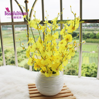Fashion noble oncidium flower set silk flower plastic decoration flower