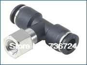 PBF12-04  tube size 12mm,Thread 1/2 ,plastic quick connect fittings,pneumatic air tube fittings,